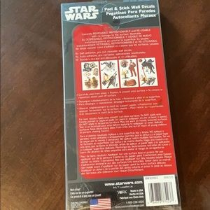 Star Wars reusable wall decals
